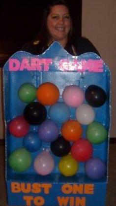 Dart game Halloween costume