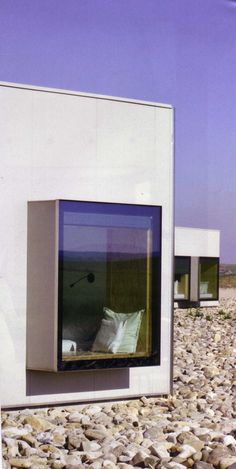 Sitzfenster Source by veravhringer House Windows, Windows And Doors, Bay Windows, Detail Architecture, Glass Extension, Modern Windows, Piece A Vivre, House Extensions, Window Design