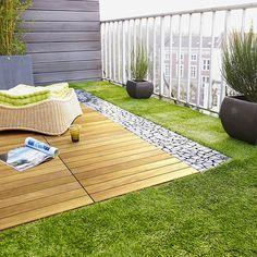 Crie Jardim: Idéias para jardins - jardins para varandas de apartamentos