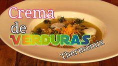 SABROSA #CREMA DE #VERDURAS CRUJIENTES CON #THERMOMIX #recipes #vegetables #creamvegetables #kitchen #thermomixrecipes