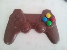 Video Game Party Chocolate Favors - xBox Style Playstation Style Chocolate Remote with Candy Buttons