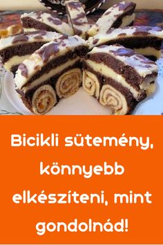Hungarian Recipes, French Toast, Pie, Chocolate, Breakfast, Sweet, Desserts, Backen, Torte