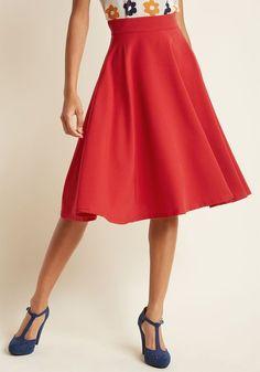 Bugle Joy Midi Skirt in Olive