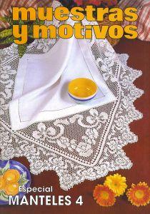 Muestras y Motivos Especial Manteles 3 Tablecloths