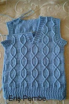 Ravelry: Argyle Vest pattern by Patons İlgili Benzer Çalışmalar No related posts. This Pin was discovered by hab hand knit vest by woolpleasure The Little Professor by Christ Baby Boy Knitting Patterns, Baby Hats Knitting, Knitting For Kids, Baby Knitting Patterns, Knitting Designs, Hand Knitting, Knit Vest Pattern, Sweater Design, Baby Sweaters