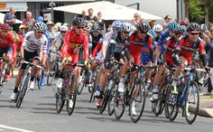 Tour de France winner Cadel Evans rounds a corner  ... by wordbiz10