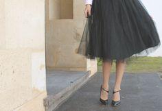 Tulle skirt Miss Black Book