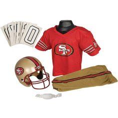 Franklin Sports NFL San Francisco 49ers Deluxe Youth Uniform Set, Medium - See more at: http://halloween.florenttb.com/costumes-accessories/franklin-sports-nfl-san-francisco-49ers-deluxe-youth-uniform-set-medium-com/#sthash.Pvb9Ximo.dpuf