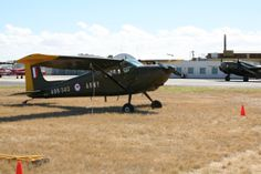 Cessna L-19/O-1 Bird Dog, at Centenary of Military Aviation airshow,March 1 and 2 2014 at RAAF Williams, Point Cook, Victoria, Australia. RAAF Williams is the world's oldest continually operated military air base