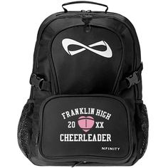 734a40ef2378 Check out this design from Customized Girl. Nfinity backpack Cheer Bags