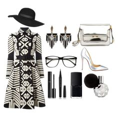 untitled #01 by bienheureux on Polyvore featuring polyvore fashion style Burberry Christian Louboutin Marni Lulu Frost Topshop Marc Jacobs Chanel NARS Cosmetics women's clothing women's fashion women female woman misses juniors