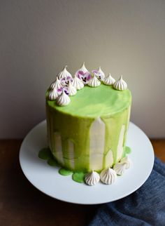 Gin and Tonic Layer Cake   Patisserie Makes Perfect