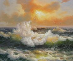 Cheap art deco nail art, Buy Quality art channel directly from China art service Suppliers: Hand Painted Oil Painting Big Haibo Tao Seascape Waves Home Decoration Wall Art Drop Shipping Sea Modern Art Contemporar