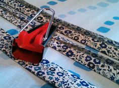 Quick and simple bias binding, find out how to at: http://www.littlebeauties.co.uk/bias-tape-maker-how-to/