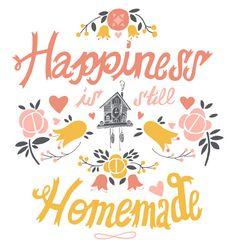 felicidade ainda é feita em casa