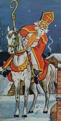 Sinterklaas, illustratie