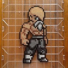 Master Roshi - Dragon Ball perler beads by mastablasta3