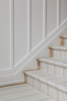 Entryway Stairs, House Staircase, Staircase Ideas, Foyer, Carpet Stairs, Ship Lap Walls, Home Office Design, Markers, Beautiful Homes