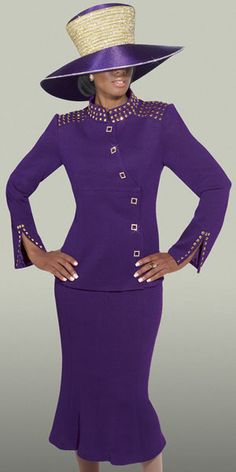 This is a listing of all the Designer Collection of Women's Church Suits with Matching Hats, Church Dresses, Career Wear, Special Occasion, and Men's Suits. Church Suits And Hats, Women Church Suits, Church Attire, Church Dresses, Church Outfits, Suits For Women, Church Hats, Dress Suits, I Dress