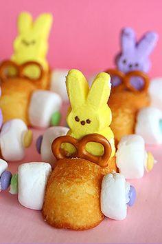 Easter Bunny Race Car Treats