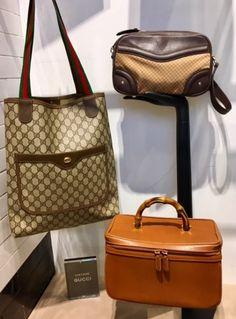 edb3add6f88c Gucci vintage black tote   shopper bag  satchel