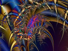 Original fractal art, fractal tutorials, fractal programs and free fractal screensavers Fractal Art, Fractals, Artist Gallery, Awesome, Amazing, Beautiful Flowers, Seattle, Places To Visit, Website
