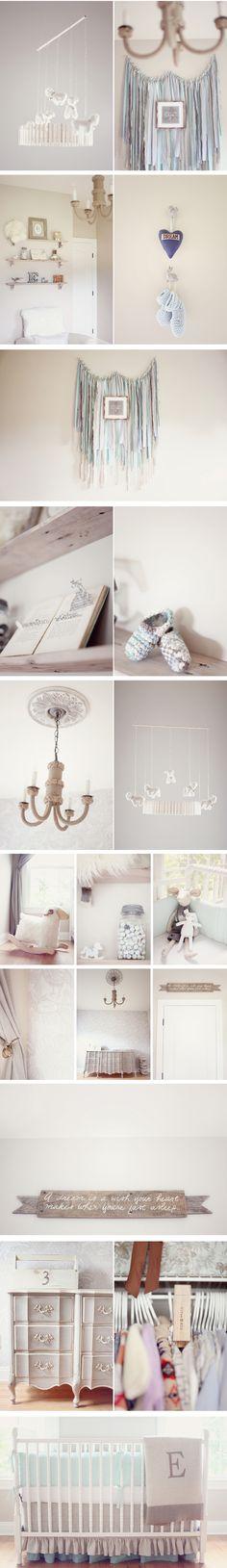 baby boy's vintage nursery design and decor
