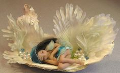Angel Fairy 'Savarna miniature fantasy Oook by FantasiaCreations, $45.00  THIS LITTLE FAIRY JUST SOLD