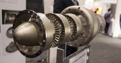 3D-printed jet engines.