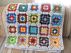 Signed With an Owl: Granny Arrows Scrap Blanket