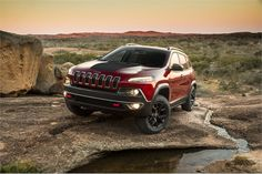 This model is the Trail-Rated Jeep Cherokee Trailhawk, which features the automaker's Jeep Active Trail Lock 4x4 system. Photo courtesy Chrysler. - Automotive Fleet Magazine - www.automotive-fleet.com #fleet