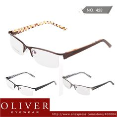 b270a58328e New Fashion Free Shipping Women Men High Quality Eyewear Frames Metal Half  Frame Optical Eyeglasses Oliver Eyewear brand 428 on AliExpress.com.  32.90