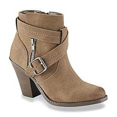 Bongo Women's America Taupe Western Boot