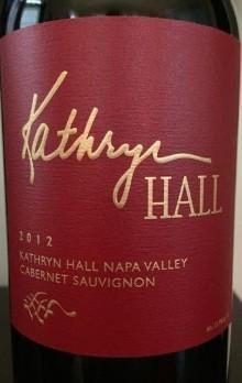 2012 Hall Cabernet Sauvignon Kathryn Hall Napa Valley