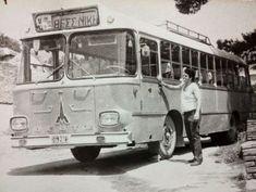Ραδιόφωνο στα Ελληνικά λεωφορεία  Δεν μου έχει τύχει ποτέ σε αστικό λεωφορείο ν' ακούσω τις ραδιοφωνικές επιλογές του οδηγού – σε αντίθεση με τα ΚΤΕΛ, όπου πολλές φορές ούτε τα μικρόφωνα του mp3 μπορούν να γλιτώσουν τ' αυτιά των επιβατών από τις καψούρε Old Greek, Cinema Theatre, Thessaloniki, Athens, Old Photos, Cars And Motorcycles, History, Vehicles, Greece