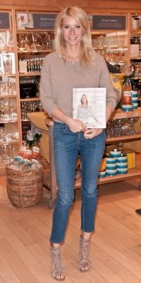 Celeb mom style steals: Get Gwyneth Paltrow's style. This look is a perfect way to transition from summer to fall!