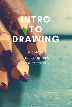 In this drawing course, you'll learn techniques for drawing what you see using a correct technique. Studies in contour drawing, perspective, positive/negative space and value will help you build a foundation. #drawing #designer #creativity
