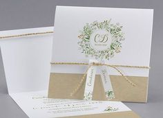 Faire-part de mariage Lily of the Valley - Collection Vintage - cottonbird. Shabby Chic Wedding Invitations, Creative Wedding Invitations, Invites Wedding, Wedding Programs, Wedding Cards, Diy Wedding, Wedding Day, Budget Wedding, Plus Size Wedding Guest Dresses