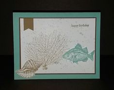 By the Tide Birthday by ksmile1978 - Cards and Paper Crafts at Splitcoaststampers