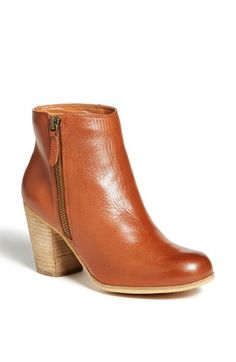 BP. 'Trolley' Ankle Bootie Burnished Cognac/ Natural Heel Size 5 M by: BP. @Nordstrom