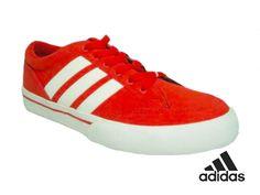 Tenis Adidas Canvas Rojos