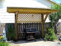 """PERGOLA """"Plus"""" for my Charcoal Grill"""