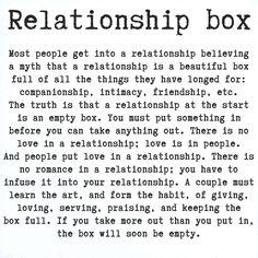 relationship box