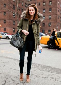 Street style New York February 2012 - SCENT OF OBSESSION - fashion blogger, outfit, travel and beauty tips