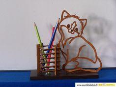 Pot à Crayons - auxrefletsdubois.fr