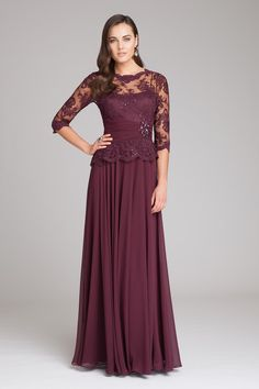 Never miss the chance to get the best unique mother of the bride dresses,blue mother of the bride dressesand bride mother dresses on DHgate.com. The cheap 2015 new elegant lace burgundy mother of bride dresses half sleeves chiffon long formal evening dress sheer neck ruffles wedding guest gowns is for sale in toprated and buy it now!