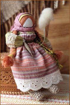 Народные куклы ручной работы. Ярмарка Мастеров - ручная работа. Купить Богиня-пряха Макошь. Handmade. Пряха, текстильная кукла