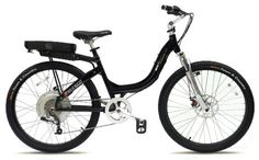 Love It! Prodeco V3 Stride 500 8 Speed Electric Bicycle, Black Pearl Metallic Gloss, 26-Inch/One Size