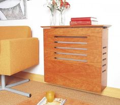 15 Ideas To Hide Ugly Radiators By Making Them Looks Like Sideboards…