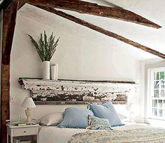 DIY Headboard Ideas |  Shabby Chic | DIY Bedroom Decorating Ideas